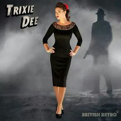 'Trixie Dee' in my opinion is very glamorous and flattering for pretty muh every figure! It's from the shop 'British Retro' ♥♥