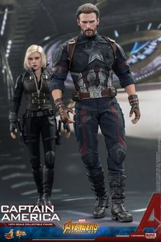 Hot Toys is very excited to present the latest 1/6th scale collectible figure of Captain America with all new look from Avengers: Infinity War!