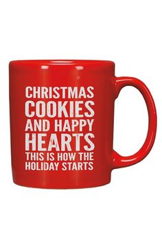 Christmas cookies & happy hearts - this is how the holiday starts!