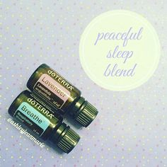 I want to share one of my favorite blends for bedtime to start this diffuser blend series! This peaceful sleep (aka no snoring allowed) blend is diffusing almost every night before bed and while we sleep. If you sleep next to someone who snores, you need to try this blend ASAP  3 drops of lavender essential oil to promote feelings of relaxation and restful sleep 3 drops respiratory blend to help promote clear airways and deep breathing BONUS: Breathe is great for supporting overall respir...