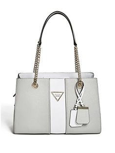 cf04e46414 Remi Color-Block Girlfriend Satchel at Guess