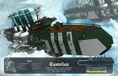 Old work - Stratiari Cruiser by Purgatory2010 on DeviantArt