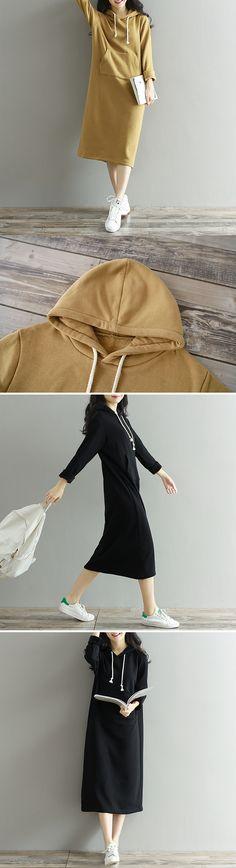 Plus thick velvet Pregnant Sweatshirts Maternity Casual Hoodies Dress
