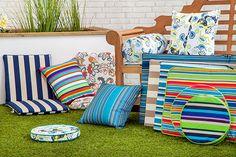 Gardenista Premium Edition Piped Edge Garden Cushions & Pads Waterproof Outdoor