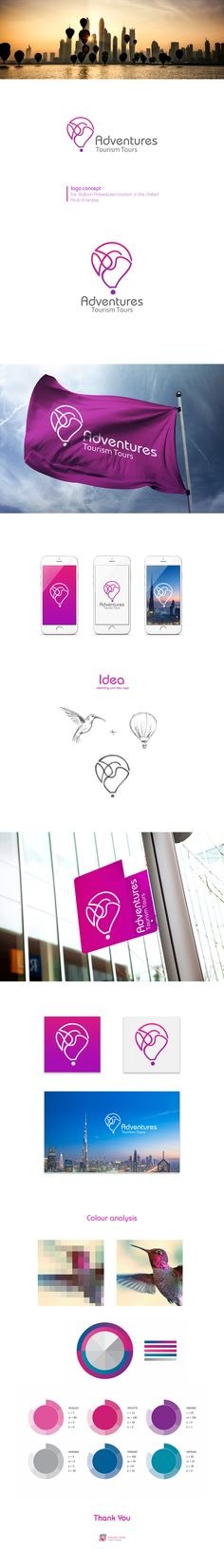 Adventure logo on Behance