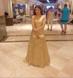 nida-yasir-at-iifa-awards-2017-4 Nida Yasir, Awards 2017, Party Wear, Pakistani, Bollywood, Celebrity, Celebs, Usa, Formal Dresses
