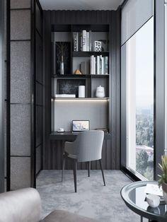Design Interior Bedroom Built Ins Ideas Home Office Design, Home Office Decor, Home Interior Design, Interior Architecture, House Design, Bedroom Built Ins, Suites, Deco Design, Home And Deco