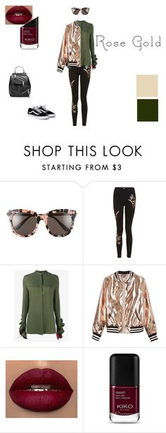 """rose gold"" by celine-ghestem on Polyvore featuring mode, Gentle Monster, Topshop, Haider Ackermann, Sans Souci et Marc Jacobs"