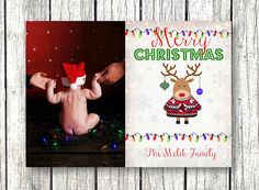 Hey, I found this really awesome Etsy listing at https://www.etsy.com/listing/215140333/christmas-photo-card-cute-reindeer-merry
