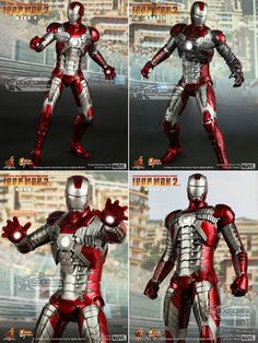 Hot Toys Iron Man 2 Mark V 12 30cm Limited Edition Collectible Figurine