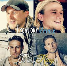 Proud of this one!! From Jax Teller to King Arthur Charlie Hunnam Sons of Anarchy