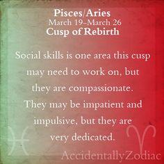Pisces/Aries Cusp Part 2