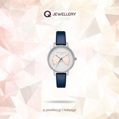 Γυναικείο ρολόι Ted Baker Brook με κάσα από ανοξείδωτο ατσάλι και δερμάτινο λουράκι.  Επισκεφτείτε ένα από τα καταστήματα μας στη Θεσ/νίκη  www.q-jewellery.gr Michael Kors Watch, Ted Baker, Watches, Accessories, Jewelry, Fashion, Moda, Jewlery, Bijoux