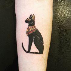 egyptian cat tattoo www.kittyloversclub.com