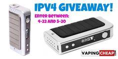 Enter to Win a IPV4 Box Mod from http://VapingCheap.com