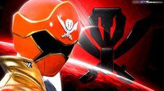 Wallpaper Gokai-red