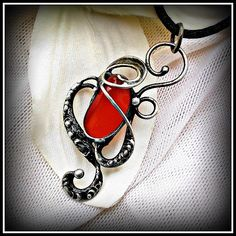 Carneol pendant / SOLD /