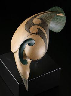 Raven • New Zealand Raven by Rex Homan, Māori artist (KR70805)