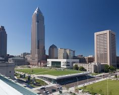 The Cleveland Civic Core project, by LMN Architects, involved a redesign of Cleveland Mall