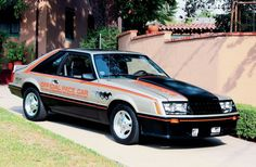 1979 Mustang Pace Car Ford Twin Turbo - Google Search