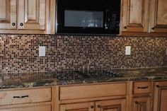 Kitchen backsplash. Home Depot