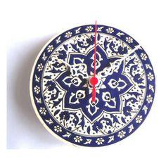 Ceramic Turkish Tile Wall Clock