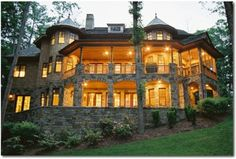 My dream mansion in the woods