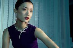"Sarah Yang, ""The Madam"", the manager."