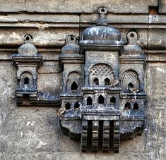 Bird House on Ayazma Mosque, Istanbul - bewri Islamic Architecture, Architecture Details, Pigeon House, Bird House Feeder, Concrete Structure, Bird Cages, Ottoman Empire, Istanbul Turkey, Byzantine