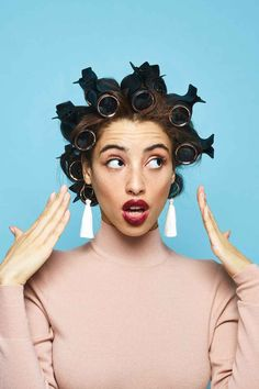 How To Use Hot Rollers, T3 David Lopez Hair Tutorial