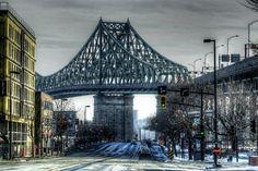 Jacques Cartier bridge montrealistik logo