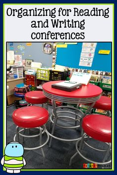 Organizing for Reading and Writing Conferences - Primary Planet!