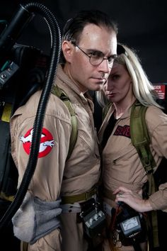 Costume Play at San Diego's Comic-Con; The Ghostbusters