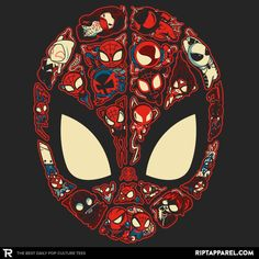 Marvelous Lil Spiders T-Shirt - Spider-Man T-Shirt is $11 today at Ript!