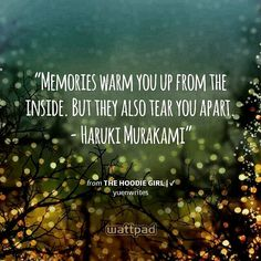"""""""Happy that it happened , sad that's it's gone? Memories really do have a weird effect on people... but then again , they are all that would stay with us forever .. """"because without memories,  I don't exist"""" ~me #quotes #memories #life #existence #truth #beautiful #wattpad"""" by (sarahkamoun16). quotes #truth #existence #memories #life #beautiful #wattpad [Visit www.micefx.com for more...]"""