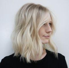 Creamy blonde waves by Brenda Kamt