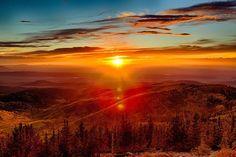 de karpaten bergen in oekraïne; puur natuur