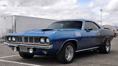 1971 Plymouth Barracuda. Awesome American Muscle!