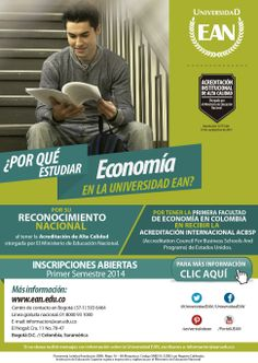 ¿Por qué estudiar Economía en la Universidad EAN?