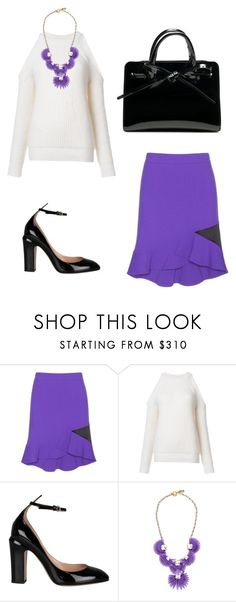 """Без названия #2715"" by xeniasaintp ❤ liked on Polyvore featuring Emilio Pucci, Derek Lam, Valentino and VANINA"