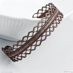 Ruffles & Lace Bracelet  by Sarah-n-Dippity http://www.metalworkers.org/Gal162299_Ruffles_and_Lace_Bracelet.asp