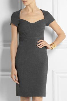 Diane von Furstenberg Katrina stretch-cady dress NET-A-PORTER.COM