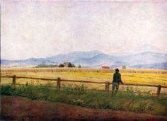 Caspar David Friedrich - Landscape with a male figure