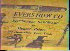 This video from the North Texas History Center presents the story of Denton's historic Evers Hardware, established in 1885, and the story of the rediscovery of Quakertown, Denton's black community from 1870-1922. In the Evers Hardware profile, we meet Evers family members that still own the store, as well as store employee Verna Solomon who worked at Evers Hardware from 1943-1987.