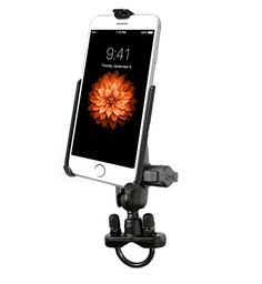 Heavy Duty Short Arm Bike Motorcycle Mount Holder Kit fits Apple iPhone 6 >>> Continue to the product at the image link.