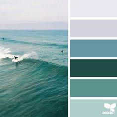 Kleurinspiratie op het strand