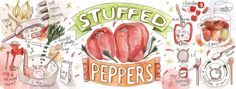Stuffed Peppers<span class='title_artist'> by Elena Alexandroaia</span>