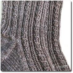 Die dritten Städte-Socken sind fertig: C wie Colombo: Die Eckpunkte: Größe: 44/45 Anschlag: 68/17 pro Nadel Bund: 20 Runden: 2re/2li Schaft: 40 Runden: Ferse: Käppchen-Ferse – 10/12/10, mit d…