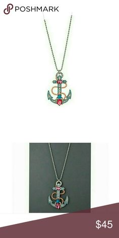 Betsey johnson  anchor necklace NWT (HL) Betsey Johnson Jewelry Necklaces