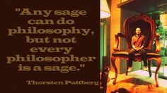 Pattberg Quote / Sagehood